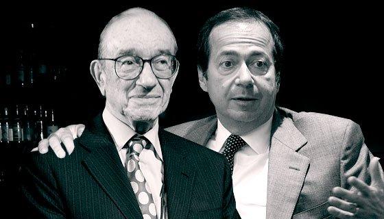 Alan Greenspan  and John Paulson