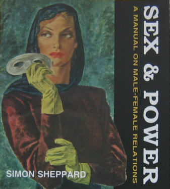 The front cover of Sex and Power by Simon Sheppard